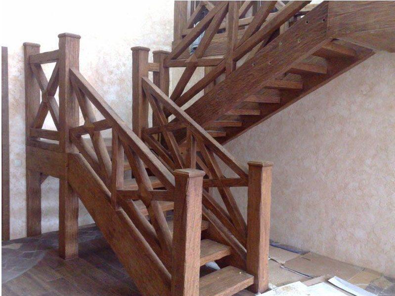 Деревянные лестницы фото из дерева